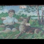 """Данини """"Me and Me"""". Предоставлено: Московский музей современного искусства."""