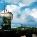 """Айвазовский Иван """"Большой рейд в Кронштадте"""" 1836 Государственный Русский музей"""