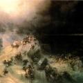 """Айвазовский Иван """"Всемирный потоп"""" 1864 Государственный Русский музей"""