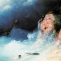 """Айвазовский Иван """"Кораблекрушение"""" 1864 Эчмиадзинский музей, Ереван"""