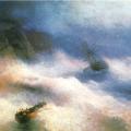 """Айвазовский Иван """"Буря у мыса Айа"""" 1875 Государственный Русский музей"""