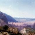 """Айвазовский Иван """"Вид на Тифлис"""" 1868 Государственный музей искусств Грузии, Тбилиси"""