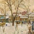 9. Айзенман Алексей «Московский дворик»  1952