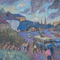 42. Айзенман Алексей «Моя любимая площадь. Москва»  1991
