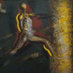 Александр Беляев. Зимние подсолнухи. Предоставлено: Новосибирский государственный художественный музей.
