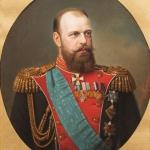 """А. фон Бутлер """"Портрет императора Александра III"""" 1890-е. Предоставлено: Государственный Исторический музей."""