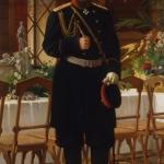 """Н.Д. Дмитриев-Оренбургский """"Портрет императора Александра III"""" 1896. Предоставлено: Государственный Исторический музей."""