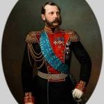 """И.А. Тюрин """"Портрет императора Александра II"""" Вторая половина 1860-х. Предоставлено: Государственный Исторический музей."""