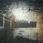 """Александр Кабин """"Иеротопии. Постиндустриальный пейзаж"""" 2020. Предоставлено: Галерея ARTSTORY."""