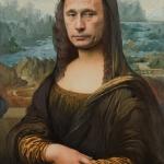 "Александр Косолапов ""Мона Лиза L.H.O.O.Q."" 2020. Предоставлено: Галерея Syntax."
