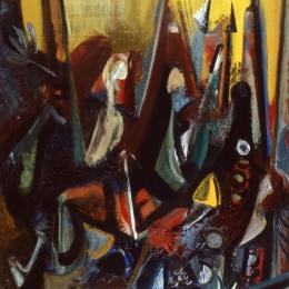 Александр Петров. Ва-банк. Предоставлено: Музей современного искусства Эрарта, Санкт-Петербург.