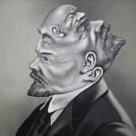 """Алексей Азаров """"Lenin Trip 1"""" 2020. Предоставлено: Галерея 11.12."""