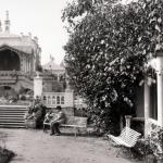 Бахрушинская усадьба в конце XIX века. Предоставлено: ГЦТМ имени А.А. Бахрушина.