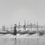 """Алексей Титаренко """"Гондолы. Из серии """"Венеция"""" 2001. Предоставлено автором и МАММ, Москва."""