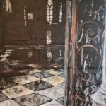 Выставка Галины Хайлу «Если долго смотреть в темноту» в Краснодарском краевом художественном музее имени Ф.А. Коваленко. Фотографии предоставлены художницей.