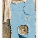 """Андрей Гросицкий """"Голубая стена"""" 1991. Предоставлено: Московский музей современного искусства."""
