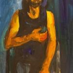 "Николай Никогосян ""Портрет художника Сурена Айвазяна"" 2013. © Галерея Нико"