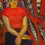 "Николай Никогосян ""Портрет Тамары"" 1950-е. © Галерея Нико"