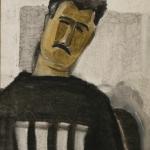 """Сурен Айвазян """"Ховик - главный художник Шуши"""" 2009. © East Meets West Gallery"""
