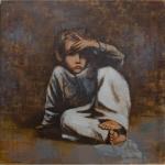 "Юрий Григорян младший ""Детство"" 2007. © East Meets West Gallery"