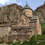 """Татьяна Палеева """"Церковь Св. Богородицы (1339), Нораванк, Сюникская область, Армения"""" 2013. © East Meets West Gallery"""