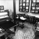 Офортные станки для глубокой и высокой печати в мастерской FERRUM PRINTLAB. Предоставлено: Музей Москвы.