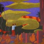 """Азам Атаханов """"Виноград для возлюбленной"""" 2012. Предоставлено автором."""