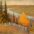 "15. Бари-Айзенман Ольга ""Осень в Райках"" 1910-е"