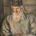 """16. Чирков Антон """"Монах Амвросий"""" 1934 Холст, масло 75х60"""