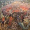 """21. Чирков Антон """"Карусель"""" 1937 Холст, масло 150х180"""