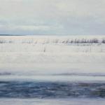 "Егор Плотников ""Зимняя дорога"" 2018. Предоставлено: Галерея ARTSTORY."