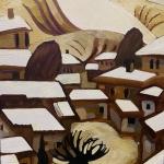 """Елена Фокина """"Снег в Коктебеле"""" 2010. Предоставлено: Галерея ARTSTORY."""