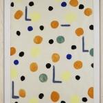 """Юрий Злотников """"Из серии """"Сигналы"""" 1958. Предоставлено: Alina Pinsky Gallery."""