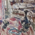 "15. Егоршина Наталия ""Натюрморт с кувшином"" 1961 Холст, масло 92х85"