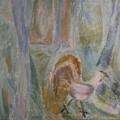 "24. Егоршина Наталия ""Петух"" 1967 Холст, масло 11х105"