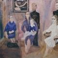 "45. Егоршина Наталия ""Парадный портрет"" 1979 Холст, масло 130х162"