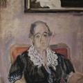 """51. Егоршина Наталия """"Посмертный портрет (Егоршина А.Ф.)"""" 1981 Холст, масло 96Х70"""
