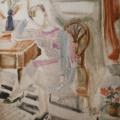 """59. Егоршина Наталия """"Портрет. Маша"""" 1993 Холст, масло 120х100"""
