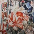 """64. Егоршина Наталия """"Портрет (Н.И. Андронов)"""" 1995 Холст, масло 100х100"""