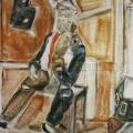 """66. Егоршина Наталия """"Портрет А.В. Васнецова"""" 2000 Холст, масло 123х103"""