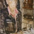 """67. Егоршина Наталия """"Портрет А. Каменского"""" 2000 Холст, масло 105х74"""