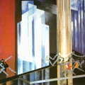 """113.  Экстер Александра  Листы из альбома """"Александра Экстер. Театральные декорации"""" -   1930  Картон, темпера (трафарет)  33х50,4  Государственный центральный музей театрального искусства им.Бахрушина, Москва"""
