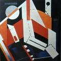 "36.  Экстер Александра  ""Конструкция""  1922-1923  Холст, масло  96х96  Собрание Маккрори, Нью-Йорк"