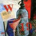 "9.  Экстер Александра  ""Натюрморт""  1912-1913  Холст, масло  49,8х35,7  Частное собрание"