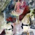 """25. Фонвизин Артур """"Цирк. Наездница на белой лошади"""" Бумага, акварель Калужский художественный музей"""