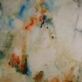 """39. Фонвизин Артур """"Цирк. Наездница на белой лошади"""" 1950-е Бумага, акварель 45х30 ГМИИ имени А.С. Пушкина"""