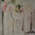 "49. Фонвизин Артур ""Натюрморт с розами"" 1955 Бумага, акварель 43,6х32,7 Частное собрание"