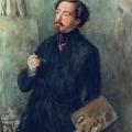 Григорий Гагарин «Автопортрет» 1840-е Государственный Русский музей.
