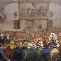 Григорий Гагарин «Лекция Кювье» 1828-1829 Государственный Русский музей.