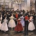 Григорий Гагарин «Бал у княгини Барятинской» 1834 Государственный Русский музей.